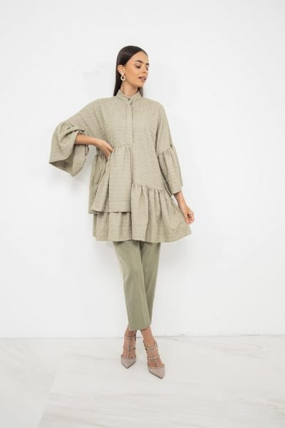Oversized Dress & Trouser Coord | Pistachio